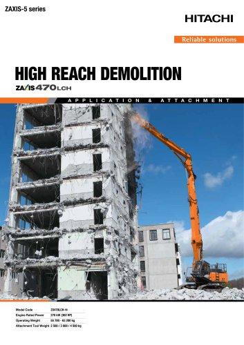 HIGH REACH DEMOLITION ZX470-LCH