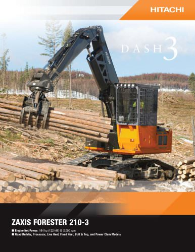 ZAXIS FORESTER 210-3