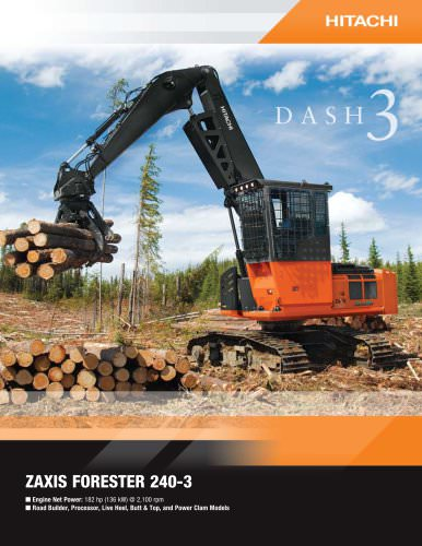 ZAXIS FORESTER 240-3