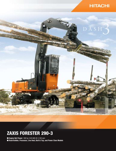 ZAXIS FORESTER 290-3