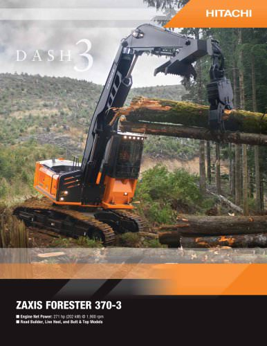 ZAXIS FORESTER 370-3