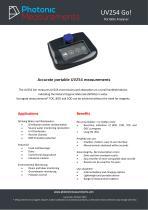 UV254 Go! Datasheet