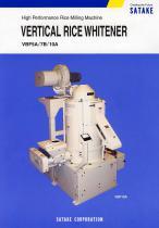 VERTICAL RICE WHITENER VBF5A/7B/10A
