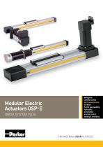 Modular Electric Actuators OSP-E