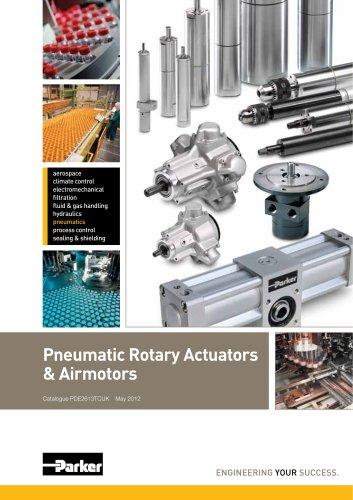 Pneumatic Rotary Actuators & Air motors - Platform Catalogue: PDE2613TCUK