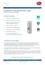 TrackSense® Pro XL Wireless Data Logger