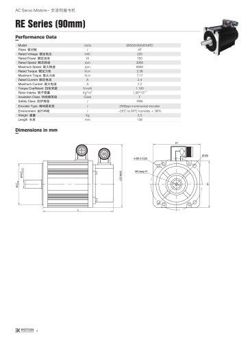 AC SERVOMOTOR - 90S SERIES