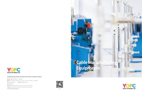 Cable Manufacturing Equipments