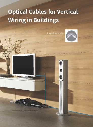 Optical Cables for Vertical Wiring in Buildings