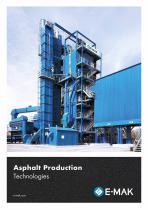 Asphalt Production Technologies