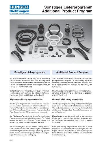 mouldings and semi-finished products