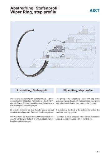 Wiper Ring, Step Profile AIST