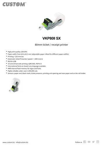 VKP80II SX