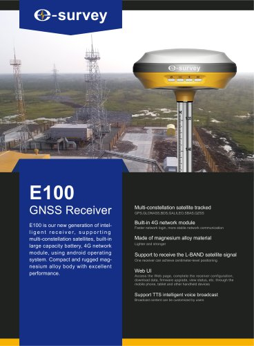 E100 GNSS Receiver Datasheet