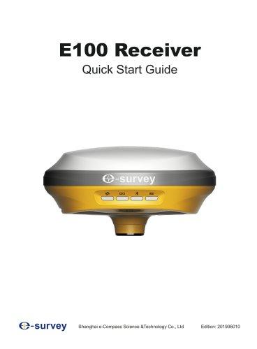 E100 GNSS Receiver Quick Start Guide