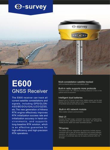 E600 GNSS Receiver Datasheet