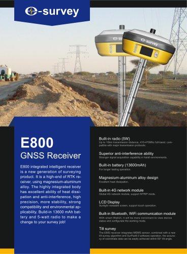 E800 GNSS Receiver Datasheet