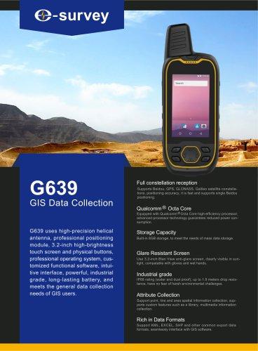 G639 High Precision Beidou Handheld
