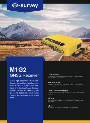 M1G2 GNSS Receiver Datasheet