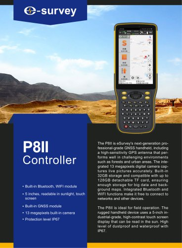 P8II Rugged Controller Datasheet