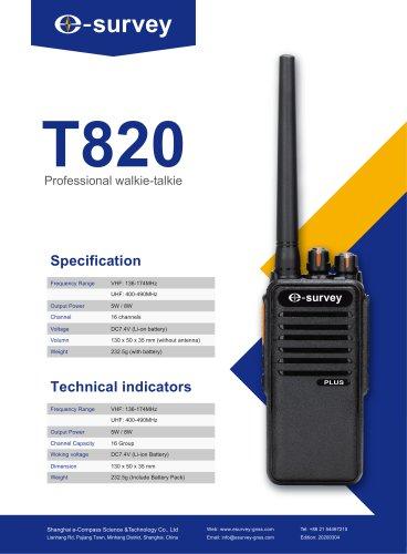 T820_Walkie_Talkie_Datasheet[ENG]