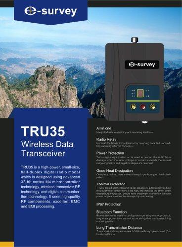 TRU35 External Radio