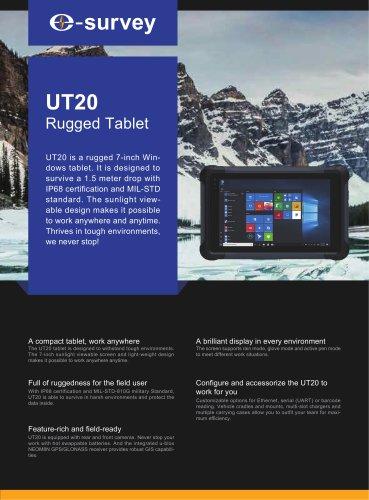 UT20 Rugged Tablet