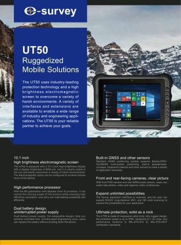 UT50 Ruggedized Mobile Solutions Datasheet
