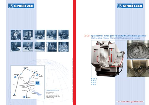 Workholding - Starter Kits for HERMLE machining centres
