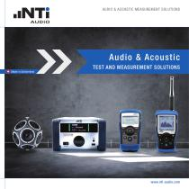 NTi-Audio Full Line Catalogue