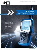 XL2 Audio & Acoustic Analyzer