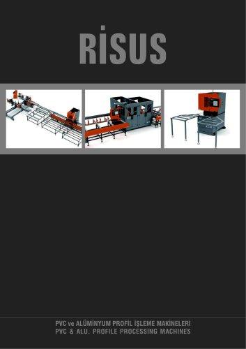 PVC & ALU. PROFILE PROCESSING MACHINES