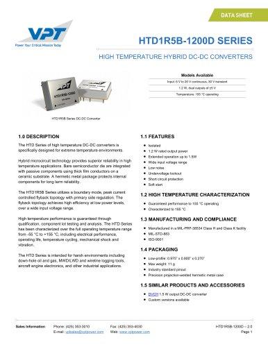 HTD1R5B-1200D SERIES