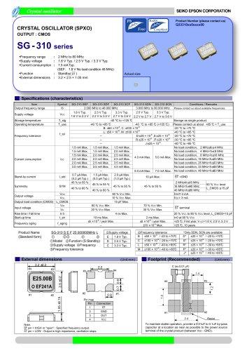 SG- 310 series