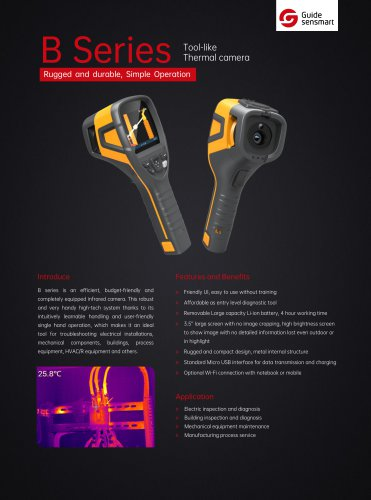 Guide B160V Tool-like Thermal Camera