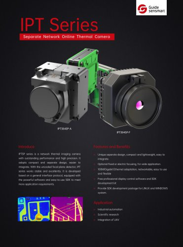 Guide IPT384SP-A Separate Network Online Thermal Camera