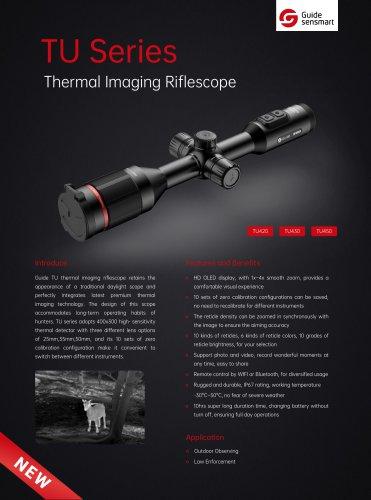 Guide TU Series Thermal Imaging Riflescope