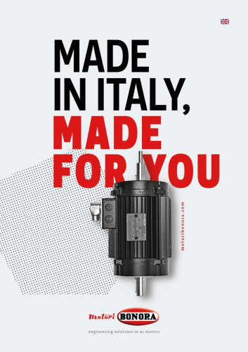 Made in Italy, made for you