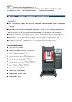CTM-2000 Concrete Compression Testing Machine - 1