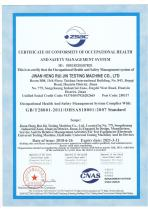 ISO9001 Occupational Health and Safety Management System - 1