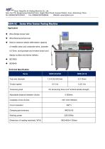 NDW Series Wire Torsion Testing Machine