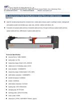WGL-10000 Horizontal Tensile Testing Machine for Closure for Optical Fibers and Cables - 1