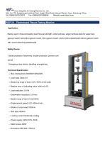 WGP-2A Plasterboard Flexure Testing Machine - 1