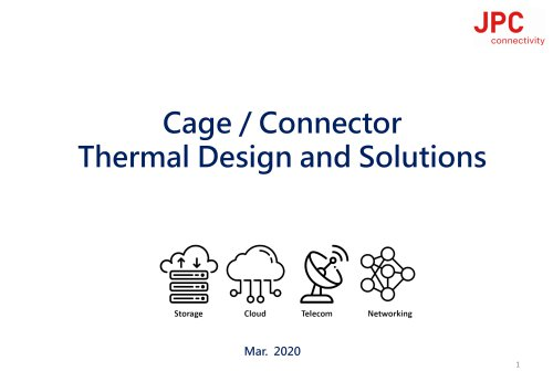 JPC -Cage Conn Thermal Solutions