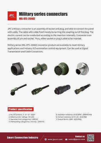 Military connectors (MIL-DTL-26482)