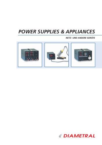 POWER SUPPLIES & APPLIANCES