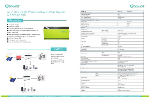 All in one energy storage system