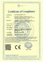 CE certificate of outdoor ups