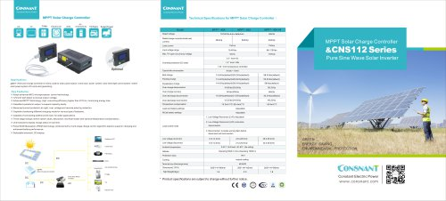 MPPT Solar Charge Controller & CNS112 Series
