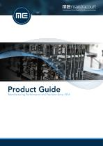 Mantracourt Product Guide